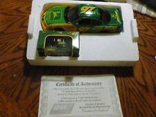 NIB 1:24 scale die cast of 97'Pontia GrandPrix driven by Chad Little AUTOGRAPHED
