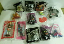 McDonalds Happy Meal toy lot 13 Chick Fil A Cow Spongebob Night Museum Wow Wee