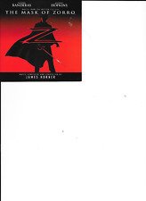 James Horner -The  Mask of Zorro (Original Film Soundtrack) ( CD 1998)