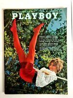 VINTAGE PLAYBOY MAGAZINE JULY 1968 MELODYE PRENTISS, PAUL NEWMAN w/ BAG & BOARD