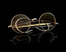 Vintage Art Deco spectacles, round framed, 1920s, faux tortoiseshell