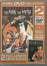 BRUCE LEE: THE MAN THE MYTH & MORTAL CONQUEST 2 DVD MOVIES