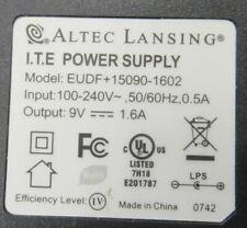 Altec Lansing 9V 1.6A AC/DC Power Supply -G5