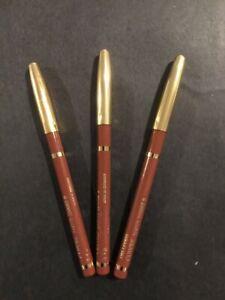 Lancôme Le Crayon Contour Color Lip Pencil Cuivre Full Size - New SET OF 3