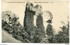 CPA - Carte postale -France - Saint-Marcellin - Ruines Féodales de Beauvoir