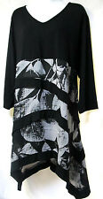 plus sz XS / 14 TS TAKING SHAPE Layla soft draping tiered tunic Top NWT $130