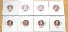 2000 2001 2002 2003 2004 -  2007 2008 S Lincoln Cent Penny Proof 9 Coin Set Lot