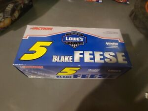 Blake Feese #5 Lowe's 2005 Monte Carlo 1:24 scale car Action NASCAR Autographed