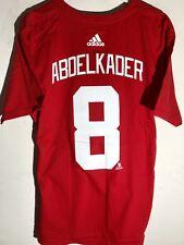 adidas NHL T-Shirt Detroit Redwings Justin Abdelkader Red sz L c115df1ec