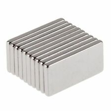 10Pcs N35 Super Strong Block Fridge Magnet Rare Earth Neodymium 20x10x2mm