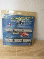 LED Zusatz leuchte mit moderner LED Technik 12 Volt Tuning Farbe Rot Auto Moped