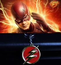 Marvel DC The Flash Badge Metal Keychain Alloy Key Chain Keyring Gift Present