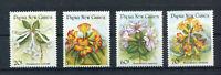 S8631) Papua & New Guinea MNH 1989, Flowers 4v