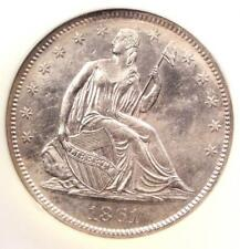 1861-O Seated Liberty Half Dollar 50C W-03 - NGC - SS Republic Shipwreck!