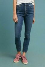 Citizens of Humanity Olivia High Rise Slim Ankle Button Fly Jeans 32 New