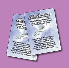 """I'm Sending A Dove To Heaven"" Poem - 2 Verse Cards - sku# 671"