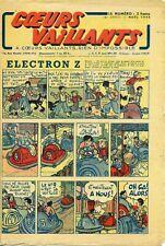 Revue Noel 1943 COEURS VAILLANTS -ELECTRON Z - Tintin et la boule mystérieuse