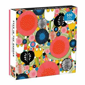 Lisa Congdon Eyes In The Garden 500 Piece Jigsaw Puzzle by Galison