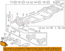 GM OEM Lane Departure Warning-Control Module 13442495