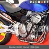 Honda CB600 F Hornet 1998-2006 + Pads Crash Bars Engine Guard Frame Protector*