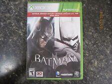 Batman: Arkham City+ Batman: Arkham City Pk (Microsoft Xbox 360, 2012) complete