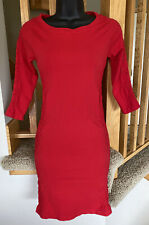 Unbranded Womens Small Red 3/4 Sleeve Stretch Bodycon Cut Out Dress