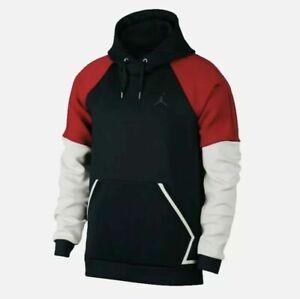 Nike Jordan Flight Tech Diamond Fleece Pullover Hoodie Sz XXXL NEW AA1488 010