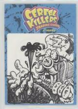 2011 Wax Eye Cereal Killers Sketch Cards #NoN 1/1 Non-Sports Card 4k2