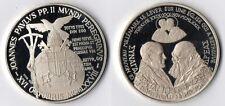 Medaglia Argento 925 Joannes Paulus PP. II Turkiye 1979 Fondo Specchio