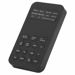 Voice Changer Male To Female Sound Changer Game Live Broadcast Phone Computer