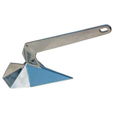AISI 316 Stainless Steel Delta Style Boat Anchor 33 Lbs