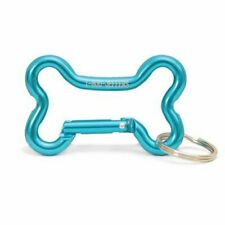Bone Keyring Clips Anodized aluminum bone shaped carabiner Large COLOR MAY VARY