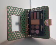 Eyeshadow Palette & Lipglosses Presented In a Cute Striped Binder