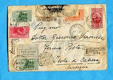 1932 POSTA AEREA GARIBALDI c.50 +  GARIBALDI c.20 + 25 x 2+ 30 + 75     (240316)