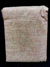 "Pottery Barn Mauve Emery Linen/Cotton Panel Drape 108"" Curtain"