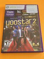 🔥 MICROSOFT XBOX 360 KINECT  - 💯 COMPLETE WORKING GAME 🔥 YOOSTAR 2
