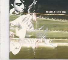 August 75-Seven Ways cd single
