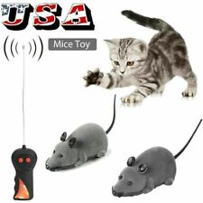 New listing Rc Funny Wireless Electronic Remote Control Mouse Rat Pet Toy For Pets Yy8