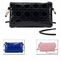 Clutch Tasche Vintage Look Umhängetasche Etui Purse Handtasche Damen Klein Bag