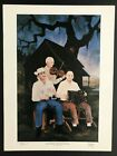 GEORGE RODRIGUE SAGA OF THE CAJUNS MELODIE TOUJOURS HAND SIGNED 18 x 24 W/COA