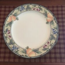 """Mikasa Intaglio """"Garden Harvest"""" 12"""" Chop Plate.Excellent Condition"""