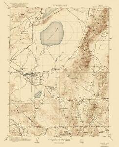 Topo Map - Carson Sink Nevada Quad - USGS 1910 - 23 x 28.26