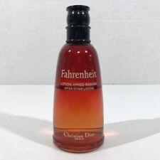 Christian Dior Fahrenheit EDT Spray 1.7 oz 50 ml France - Approximately 70% Full