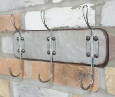 Wall Mounted Coat Hooks Metal Rack Vintage Industrial Style Pegs