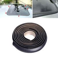 Car Windshield Seal Strip Rubber Sunroof Window Rainproof Strip Universal Black