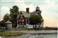 Vintage Postcard Early View of Belle Isle Park in Detroit, Michigan