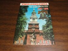 THE BICENTENNIAL CITY OF PHILADELPHIA 1776-1976 POST CARD IN FULL COLOR