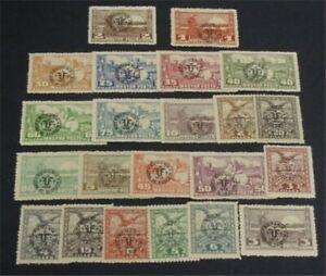 nystamps Hungary Stamp # 3N1-3N22 Mint OG NH $35   L23y372