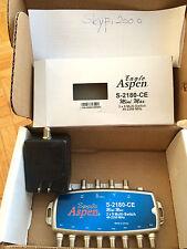 Eagle Aspen 3x8 S-2180-CE Multiswitch & Power Adaptor Brand new