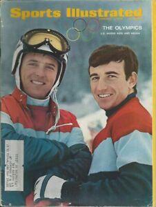 Sports Illustrated; The Olympics; U.S. Skiers Kidd & Heuga; February 5, 1968